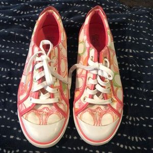 Coach Tennis Shoes Size 9.5